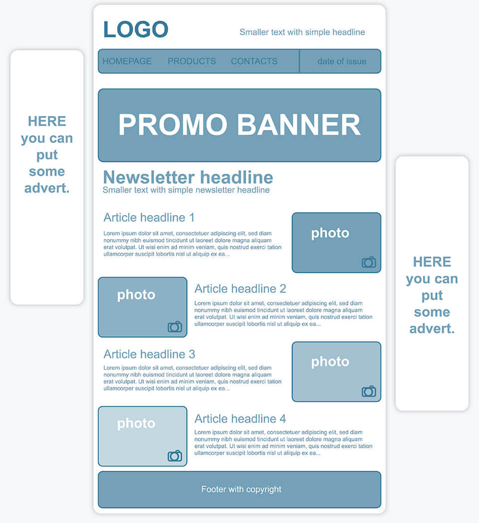 Creating a personalized newsletter template 11 how to create a newsletter template thecheapjerseys Choice Image
