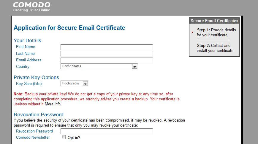 Smime The Standard Method For E Mail Encryption 11