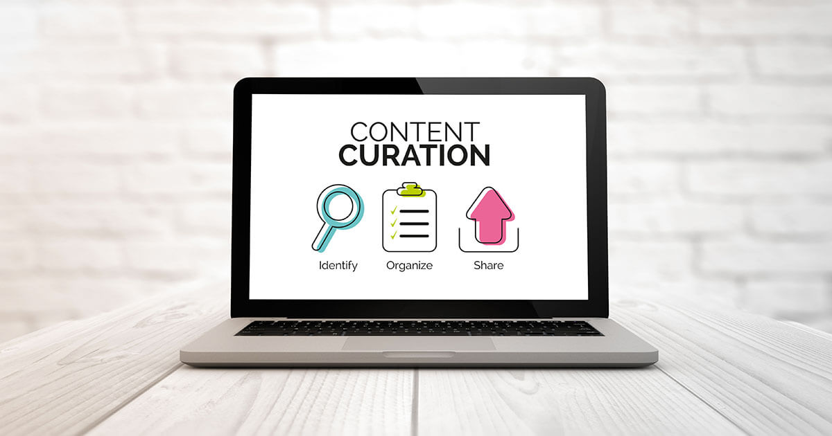 How does content curation work?