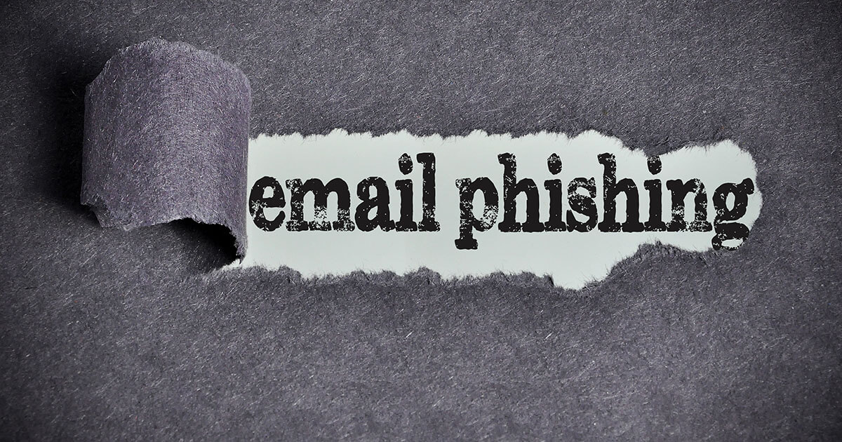 How to identify phishing e-mails and protect your data