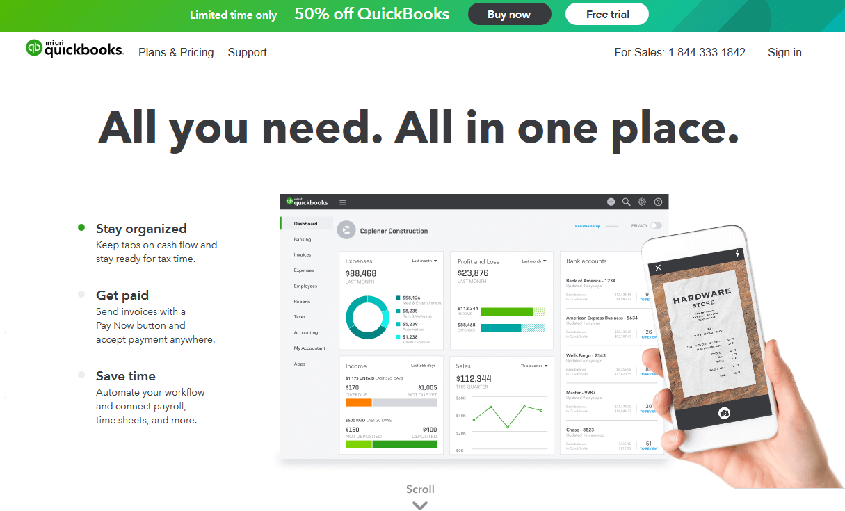 Accounting software: the best on the market - 1&1 IONOS