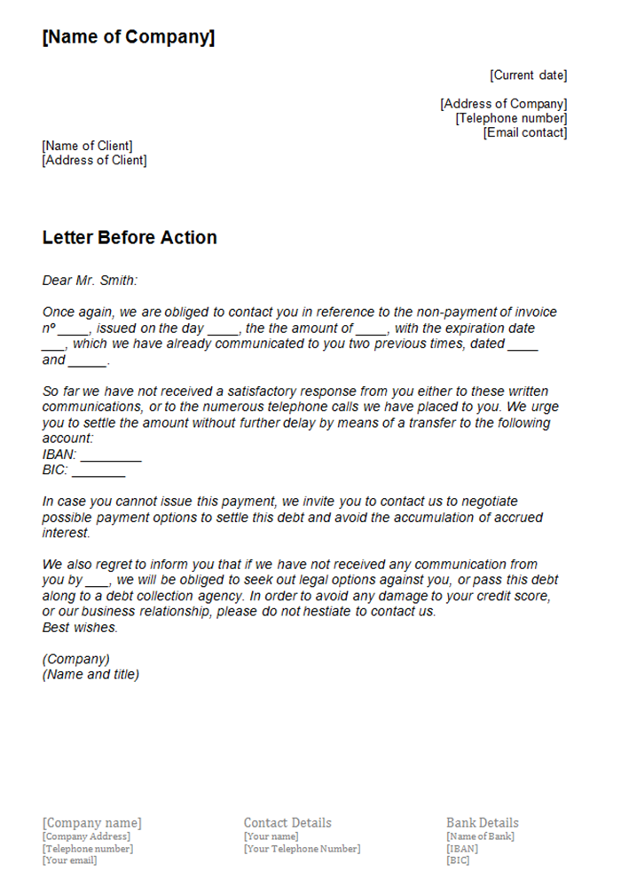 Default Notice Letter Template from www.ionos.co.uk